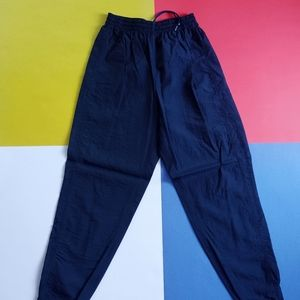 Vintage Reebok Navy Slash Pants